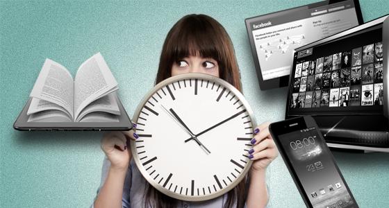organizacao do tempo para escritores